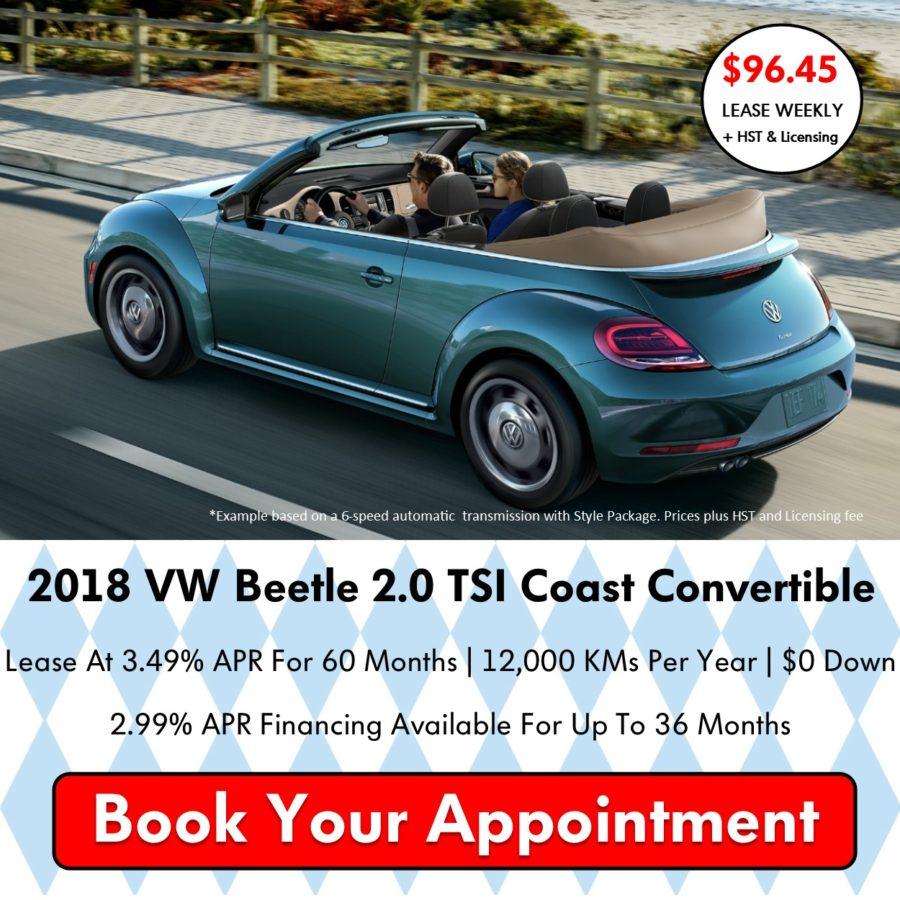 Pickering Volkswagen, Oktoberfest Sales Event, 2018 Volkswagen SELL-OFF, 2019 Volkswagen SELL-OFF, 2018 Volkswagen Beetle Convertible, Volkswagen Sales Specials, Volkswagen Deals, sales@pvw.com, 905-420-9700,