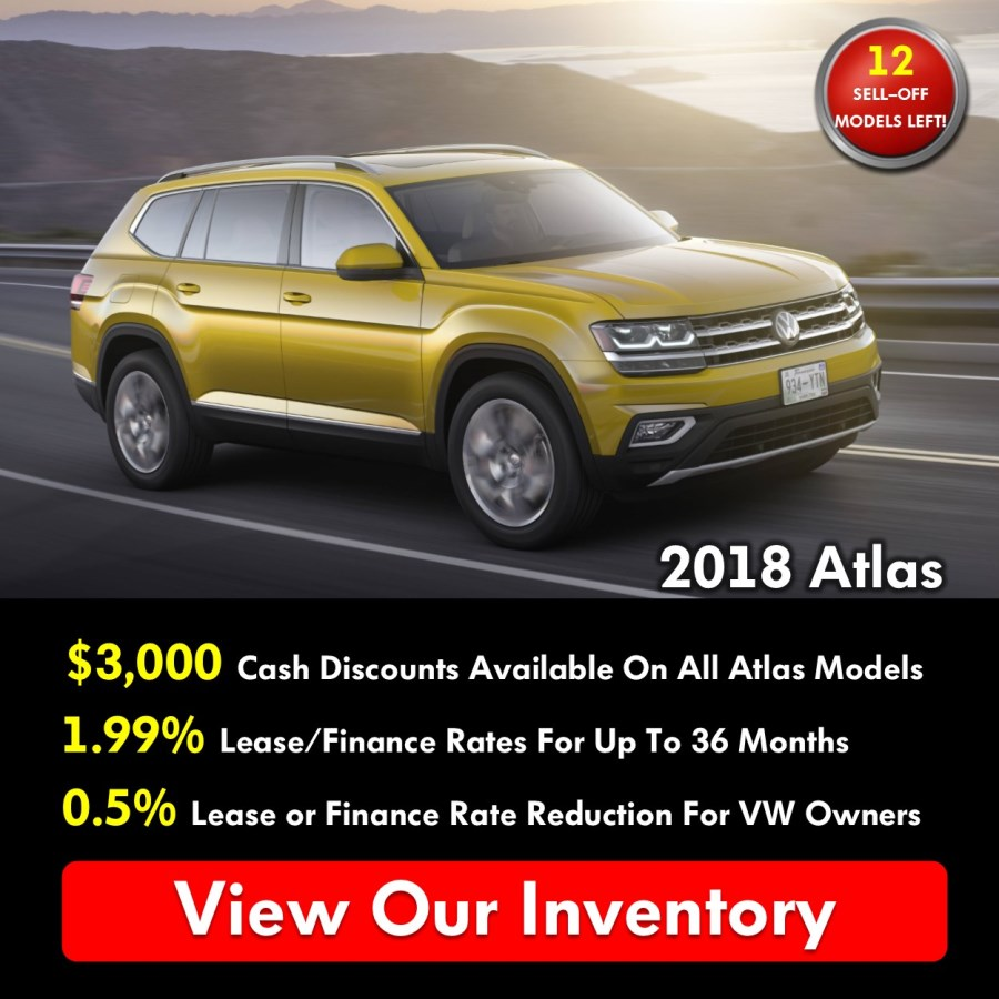 Pickering Volkswagen, Black Friday Sales Event, 2018 Volkswagen SELL-OFF, 2019 Volkswagen SELL-OFF, 2018 Volkswagen Atlas, $3000 Cash Discounts, 1.99% APR Financing, 1.99% APR Leasing, Volkswagen Sales Specials, Volkswagen Deals, sales@pvw.com, 905-420-9700,
