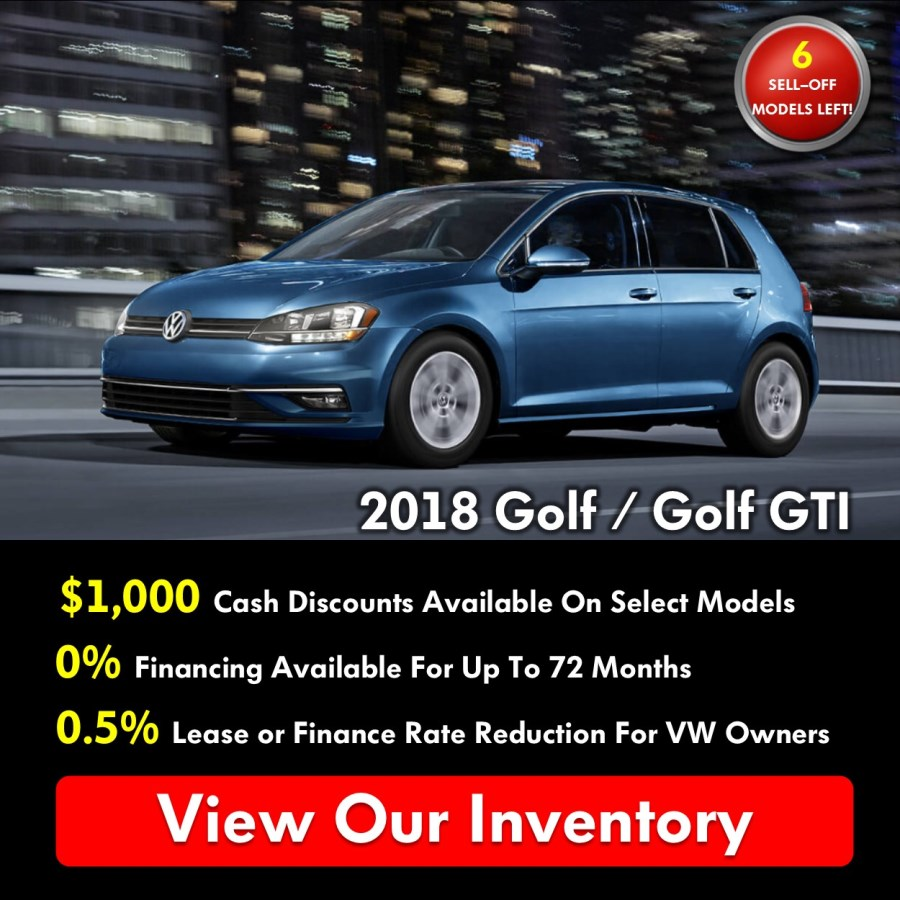Pickering Volkswagen, Black Friday Sales Event, 2018 Volkswagen SELL-OFF, 2019 Volkswagen SELL-OFF, 2018 Volkswagen Golf, $1000 Cash Discounts, 0% APR Financing, Volkswagen Sales Specials, Volkswagen Deals, sales@pvw.com, 905-420-9700,