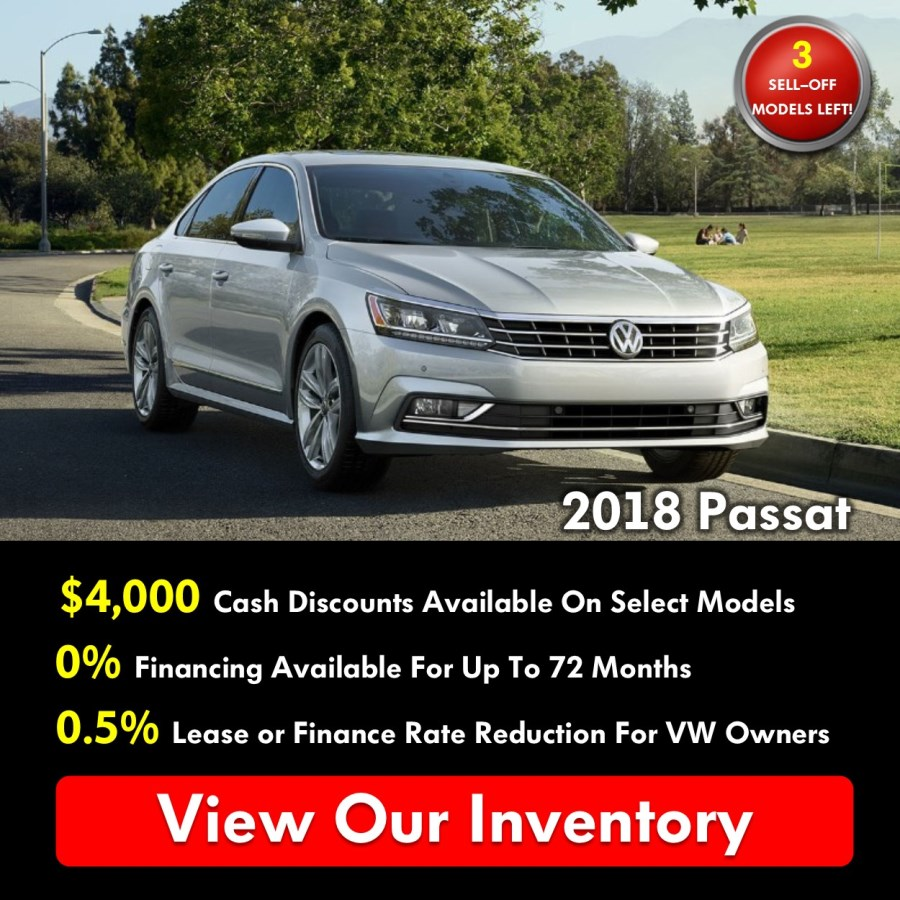 Pickering Volkswagen, Black Friday Sales Event, 2018 Volkswagen SELL-OFF, 2019 Volkswagen SELL-OFF, 2018 Volkswagen Passat, $4000 Cash Discounts, 0% APR Financing, Volkswagen Sales Specials, Volkswagen Deals, sales@pvw.com, 905-420-9700,